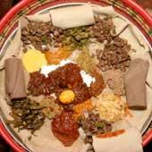 Restaurant éthiopien LAC TANA Paris ème - Cuisine ethiopienne